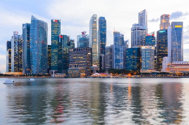 Singapur innenstadt Premium Fotos