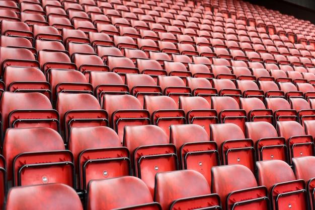 Sitzmuster im sportstadion Premium Fotos