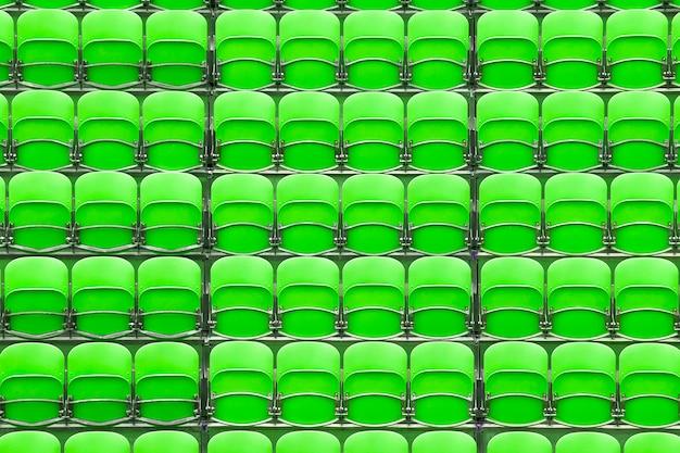 Sitzplätze im stadion Premium Fotos
