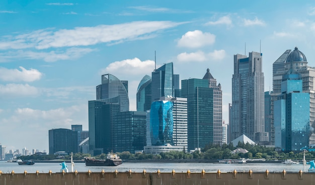 Skyline der modernen städtischen architektur Premium Fotos