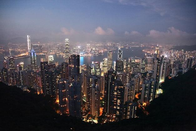 Skyline von hong kong Kostenlose Fotos