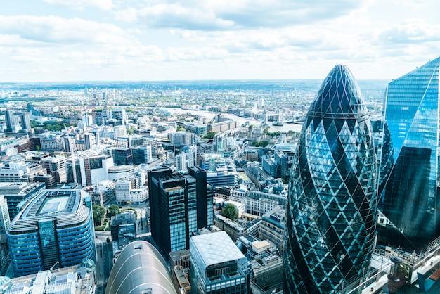 Skyline von london city Premium Fotos