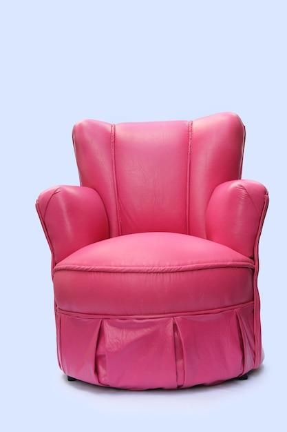 Sofa auf einem weißen hintergrund Premium Fotos