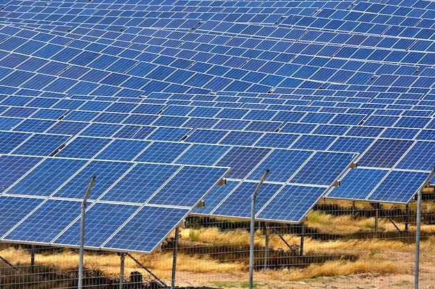 Solarplatten Premium Fotos