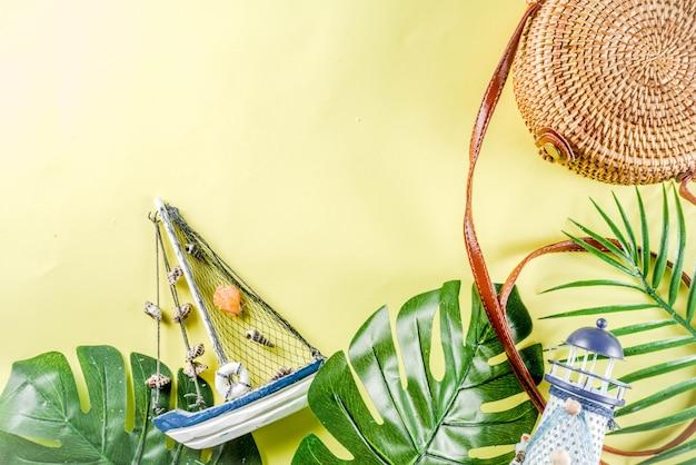 Sommerferien hintergrund Premium Fotos