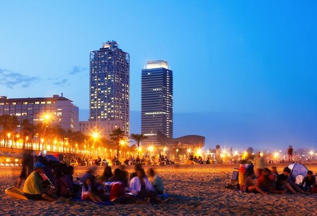 Somorrostro-strand in barcelona, spanien Kostenlose Fotos