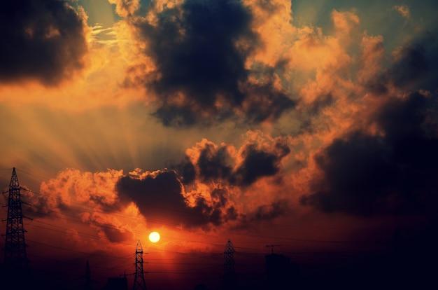 Sonnenaufgang Premium Fotos