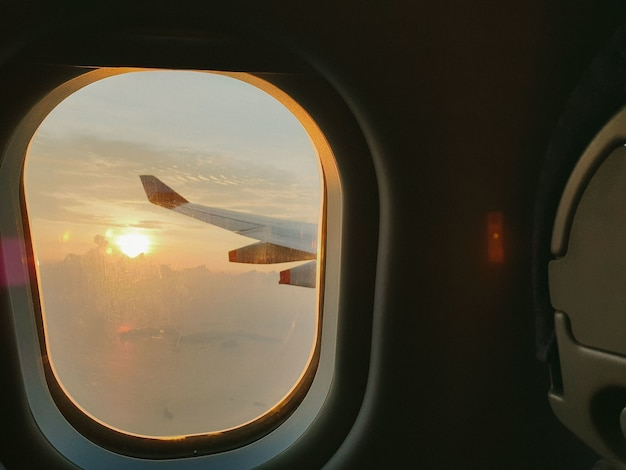 Sonnenuntergangsfenster Kostenlose Fotos