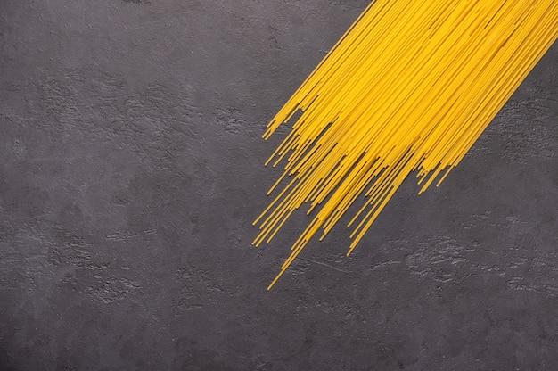 Spaghetti-konzept Premium Fotos