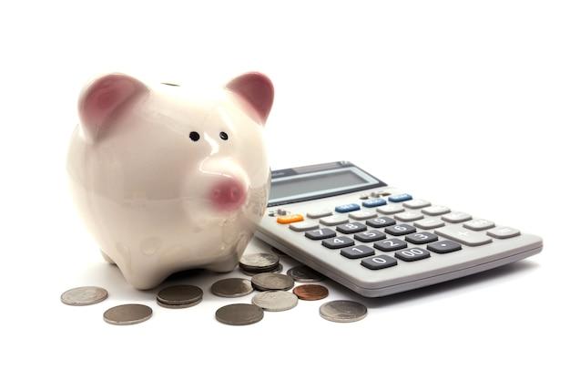 Sparschwein und geld Premium Fotos