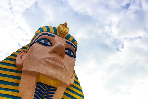 Sphinx-egyept-statue Premium Fotos