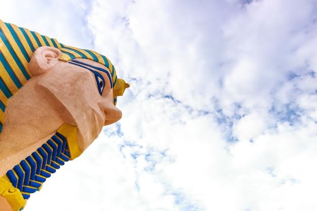 Sphinx egyept statue Premium Fotos