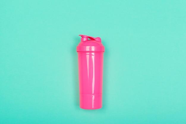 Sportflasche draufsicht Premium Fotos