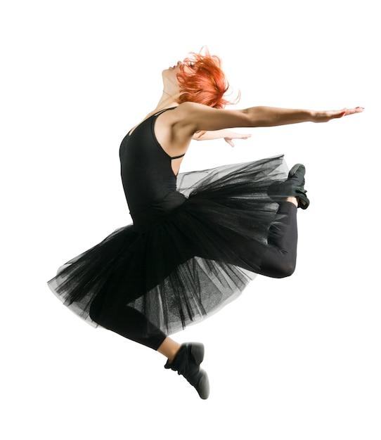 Springende ballerina Kostenlose Fotos