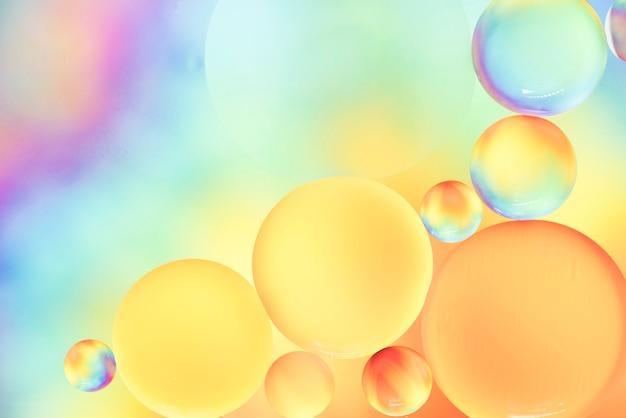 Sprudelnder abstrakter hintergrund des weichen regenbogens Kostenlose Fotos