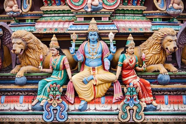 Sri mariamman tempel Premium Fotos