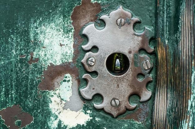 St peter basilika vom schlüsselloch auf aventino-hügel, rom italien Premium Fotos