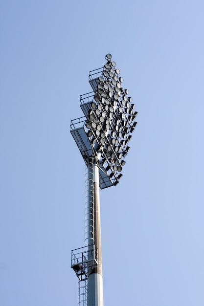 Stadion lichter Premium Fotos
