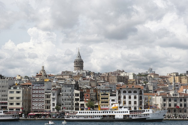 Stadt aus der ferne gesehen Kostenlose Fotos