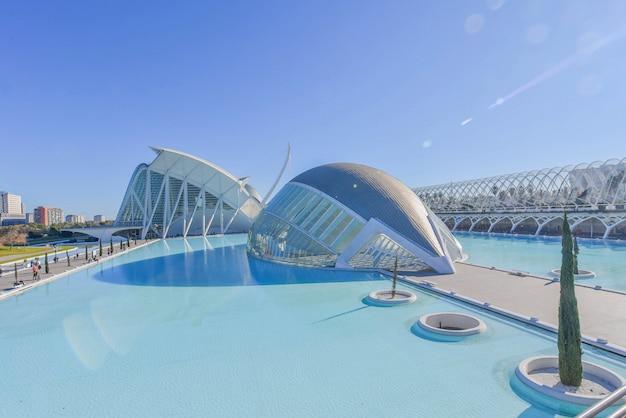 Stadt der künste und wissenschaften, valencia, spanien. Premium Fotos