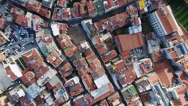 Stadtbild istanbul, türkei. luftaufnahme Kostenlose Fotos