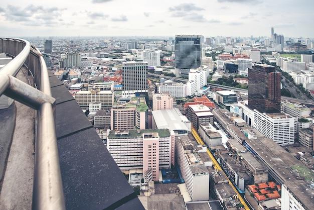 Stadtbild-skyline thailand bangkok ist metropole Premium Fotos