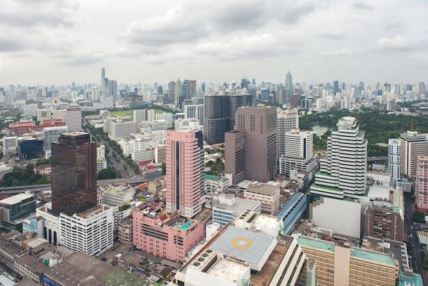 Stadtbild-skylineturm thailand bangkok ist metropole Premium Fotos