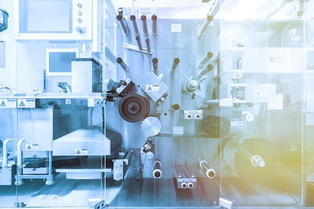 Stahlchrommaschinen mit wellen Premium Fotos