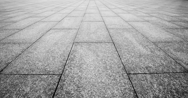 Steinblöcke im gehweg Premium Fotos