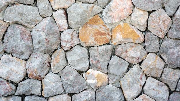 Steinmauern für einen hintergrund. Premium Fotos