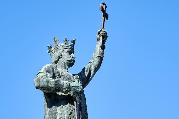Stephen der große statue in chisinau, moldawien Kostenlose Fotos
