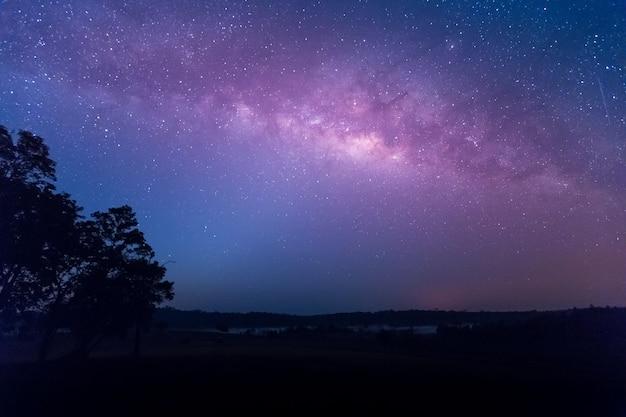 Stern, astronomie, milchstraße Premium Fotos