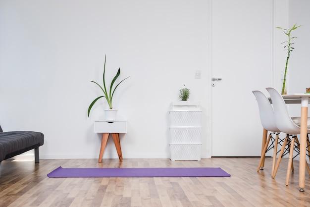 Stillleben des yogaraumes Kostenlose Fotos