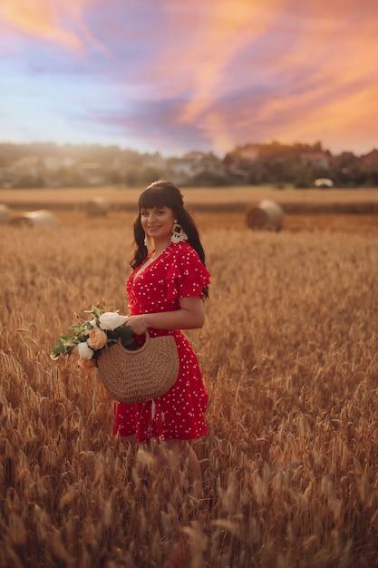 Stock foto porträt eines attraktiven dunkelhaarigen Premium Fotos
