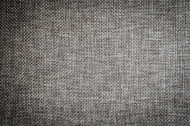 Stoff und oberfläche aus grauer und schwarzer stoffbaumwolle Kostenlose Fotos