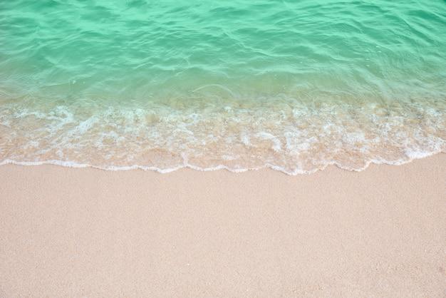 Strand, bucht, welle, sand, urlaub, berufung Premium Fotos