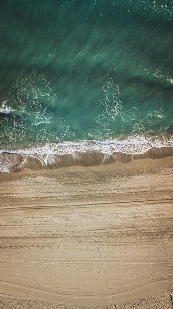 Strand in malaga, andalusien region von spanien. Premium Fotos