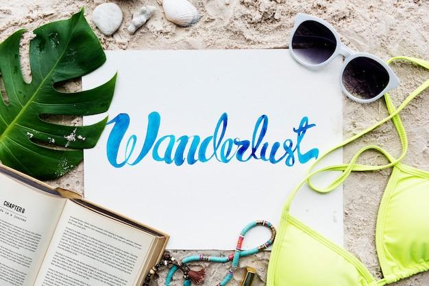 Strand-sommerferien-ferien-reise-erforschungskonzept Kostenlose Fotos