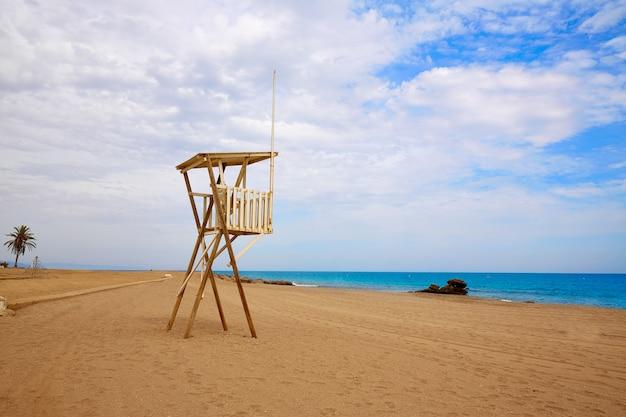 Strand spanien spanien almeria mojacar Premium Fotos
