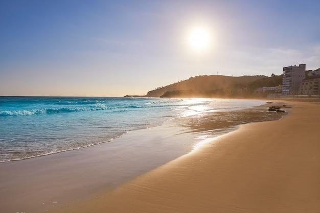 Strand von oropesa de mar la concha castellon Premium Fotos
