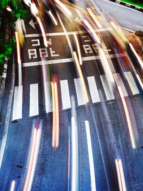 Straße in bewegung Kostenlose Fotos