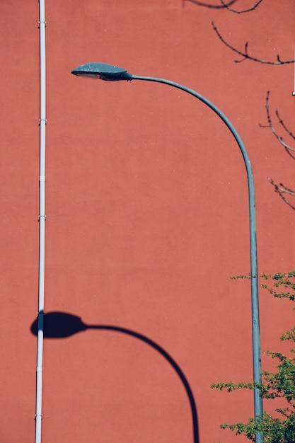 Straßenlaterne in der straße in bilbao-stadt spanien Premium Fotos
