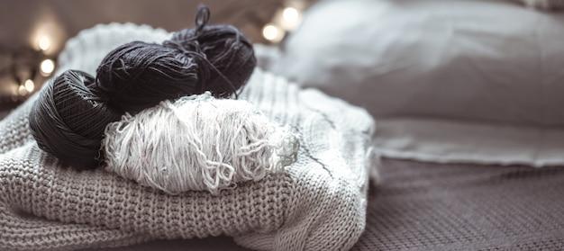 Strickpullover mit faden Kostenlose Fotos