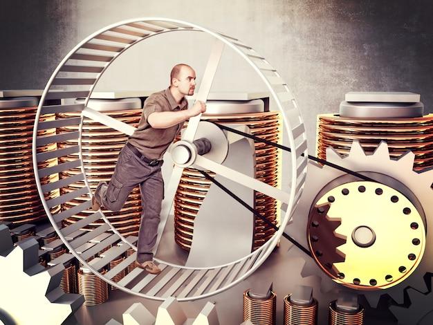 Stromgenerator Premium Fotos