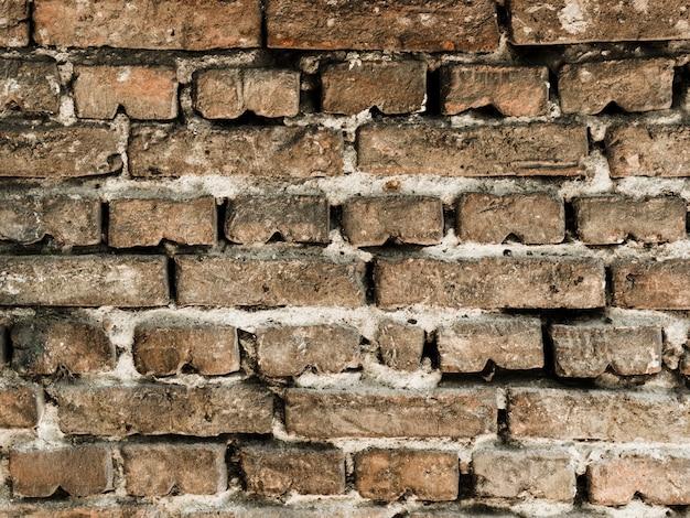 Strukturierter hintergrund der alten weinlesebacksteinmauer Kostenlose Fotos