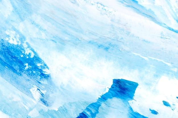 Strukturierter hintergrund des blauen und weißen pinselanschlags Kostenlose Fotos