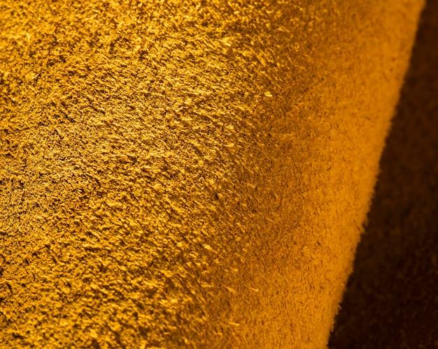Strukturiertes gelbes leder aus extremer nahaufnahme Kostenlose Fotos