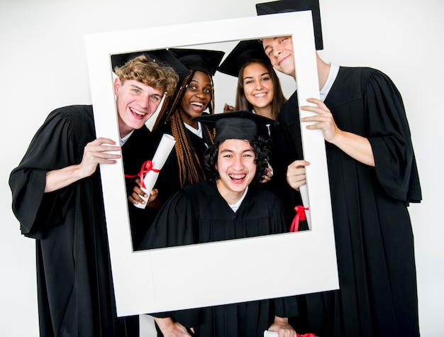 Student education school akademische freunde Premium Fotos