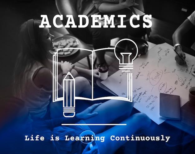 Studieren sie knowledge academics institute graphic Kostenlose Fotos