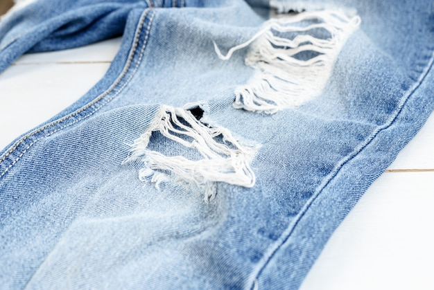 Studioaufnahme jeans, kleidung, denim Premium Fotos